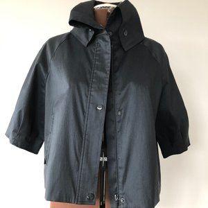 Samuel Dong Black Crop Jacket Size M